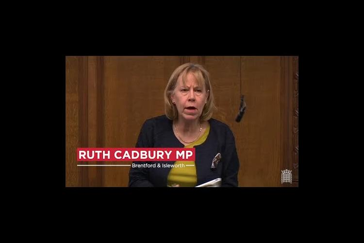 Image of Ruth in Parliament