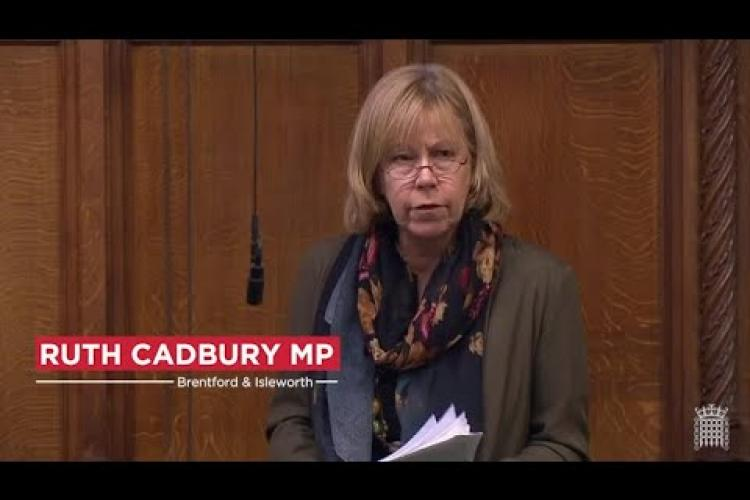 Ruth Cadbury MP in Parliament